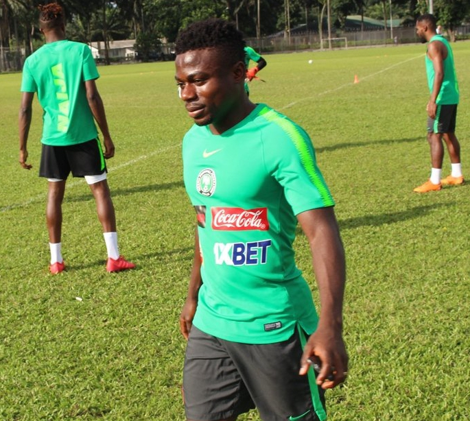 AFCON 2019: Nigerian winger says he can play left-back for Super Eagles